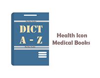 bix box studio - Health Icon medical books