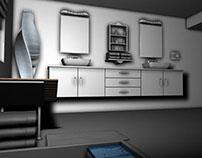 Concept Designer Bathroom WIP
