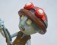 clay puppet