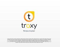 TRAXY fitness tracker