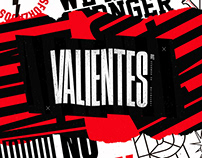 VALIENTES 2018 - Branding & Motion Graphics