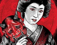 Oni Geisha: Gallery Illustration