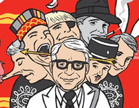 """ALL OF ME"" print for Gallery 1988 Steve Martin show"