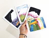 Notebooks/postcards/stationery. New Zealand