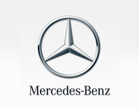 Mercedes Benz GLK landing page (concept)
