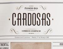 """Passeio das Cardosas"" Brochure"