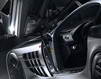 Mclaren Mercedes SLR 722 - Detail