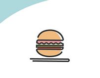 Continuous Line Icon Design