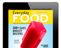 Everyday Food Magazine for iPad