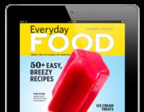 Everyday Food Magazine for iPad