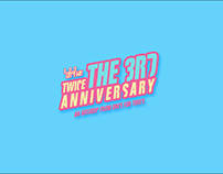 Twice The 3rd Anniversary Art Book Project