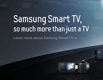 Samsung SmartTV 2010 : Microsite