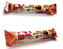 "NESTLE ""LZ"" choco bar packaging design"
