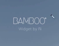 Wacom Bamboo widget casestudy video