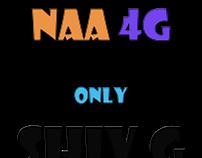 Na 3g Na 4g Only Shiv G T-shirts