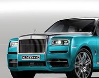 Rolls-Royce Cullinan Tiffany Blue