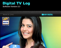 Digital TV Log Software Interface