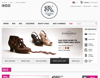 SX Fashion Brand Shop