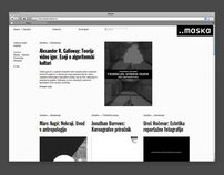 Maska Institute / Website Design