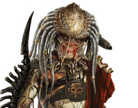 Alien vs Predator 3 game concept art