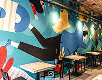 studnia | mural project | 2018