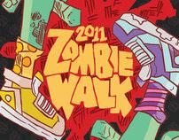 Winnipeg Zombie Walk Poster Designs
