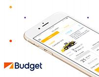 Budget Car Rental App