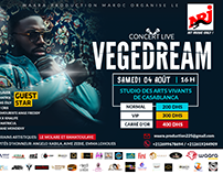 CONCERT VEGEDREAM MAROC WAARA PRODUCTION