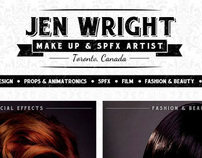 JEN WRIGHT MAKE UP