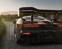 McLaren Senna - Aston Martin Vantage CGI