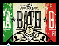 Mega Bath Bash - Event Poster
