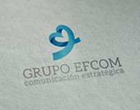 Naming & Branding Grupo Efcom (Identity Design)