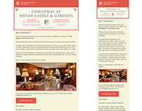 Hever Castle Responsive Emails