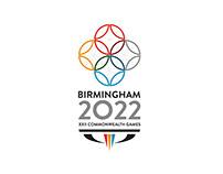Birmingham 2022 Commonwealth Games Branding