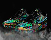 "Nike Air Force 1 ""Magic Night"""