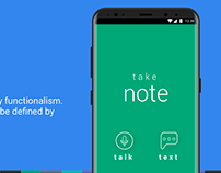 Note-Taking App Concept