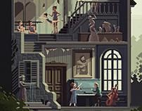 Scene #32: 'The Art School'