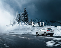 WINTER IN THE GERMAN ALPS / Work for Maserati