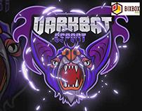 bixbox studio - Mascot Logo Dark Bat