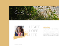Photography Studio | Web Design