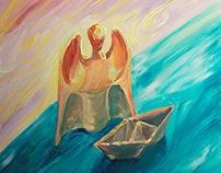 Angel & Boat