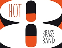 HOT 8 BRASS BAND @ MOJO CLUB / POSTER
