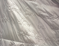 Untitled (Embroidered Comforter)