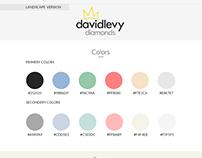 DavidLevyDiamonds Brand Book