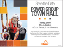 Town Hall Invitation