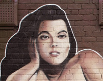 XXXL Beauty Graffiti Wall (Manchester 2012)