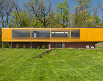 Wolfhouse, by Architect Philip Johnson.