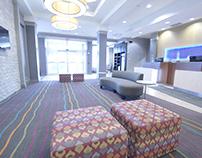 Beautiful hotel renovations at Fairfield Mariott