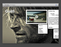 Gušti / Web Design