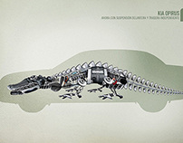 KIA MOTORS Animals 2007